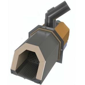 Пеллетная горелка OXI Ceramik – полностью автоматизированная горелка факельного типа. Пеллетная горелка OXI Ceramik оснащена подвижными колосниками из импортной жаропрочной нержавеющей стали, камера горения изготовлена из огнеупорной керамики. Способ распределения первичного и вторичного воздуха позволяет достигнуть высокого КПД сжигания топлива (98%) во всех режимах работы пеллетной горелки.