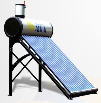 Cезонна гелиосистема серии SD - T2 (Горячее водоснабжение апрель- октябрь)