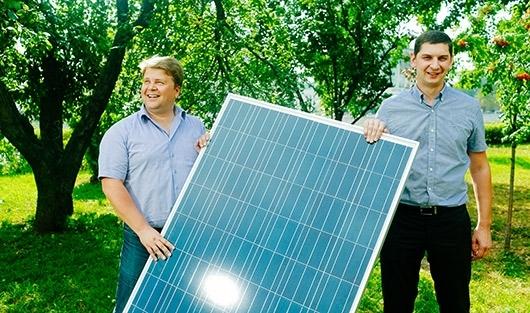Солнечная батарея, монтаж, внешний вид,