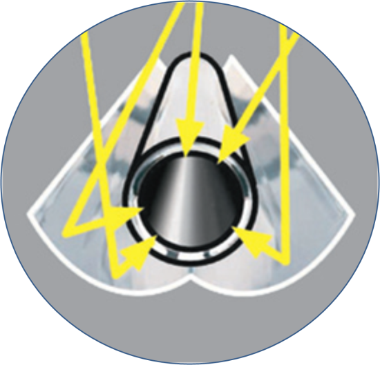 отражатель солнечного коллектора