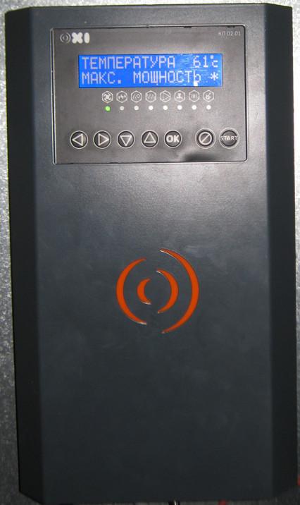 Автоматика пеллетной горелки OXI, второго поколения.