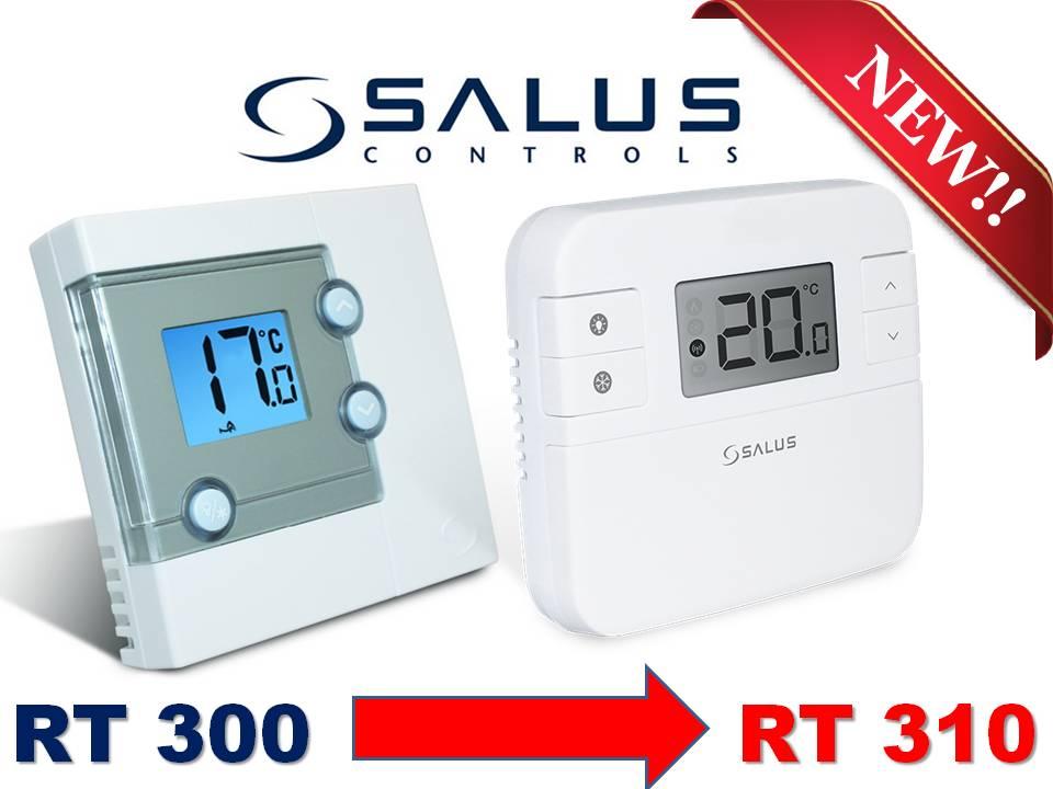 Термостат, SALUS RT310 ,является заменой SALUS RT300.