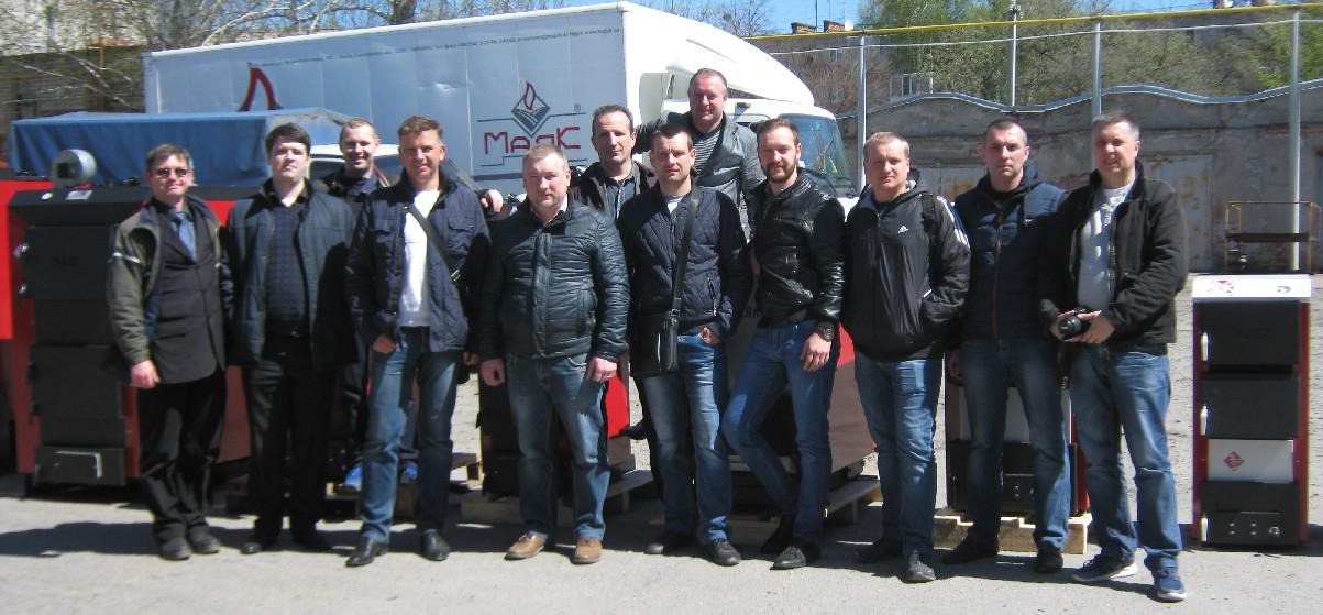 АКВАТЕХ На экскурсии на заводе МАЯК в Харькове