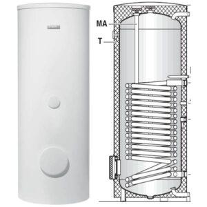 Внешний бойлер горячей воды WST EHP теплового насоса BOSCH