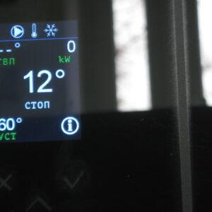 контроллер пеллетной горелки ,OXI,модель 2017 года,вид