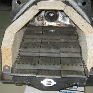 Пеллетная горелка,OXI 100 кВт,вид 3