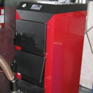 Пеллетная горелка,OXI 30 кВт,в котле Маяк КТР ECO MANUAL ,вид 1