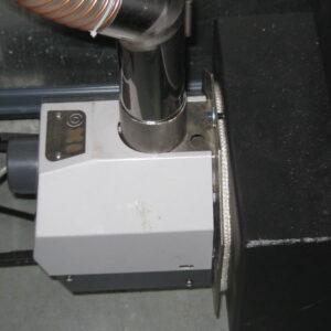 Пеллетная горелка,OXI 30 кВт,в котле Маяк КТР ECO MANUAL ,вид 2