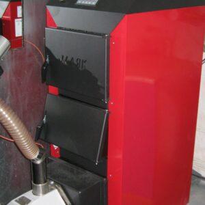 Пеллетная горелка,OXI 30 кВт,в котле Маяк КТР ECO MANUAL ,вид 4