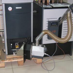 Пеллетная горелка,OXI 30 кВт,в котле BOSCH ,вид 1