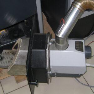 Пеллетная горелка,OXI 30 кВт,в котле BOSCH ,вид 2