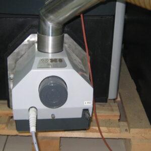 Пеллетная горелка,OXI 30 кВт,в котле BOSCH ,вид 3