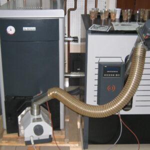 Пеллетная горелка,OXI 30 кВт, в котле BOSCH