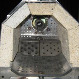 Пеллетная горелка,OXI 50 кВт,вид 1