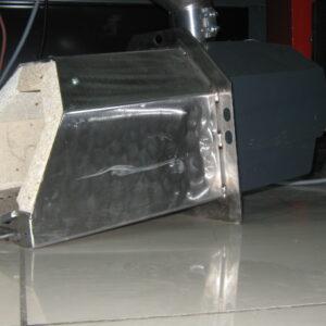 Пеллетная горелка,OXI 50 кВт,вид 2
