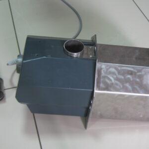 Пеллетная горелка,OXI 50 кВт,вид 4