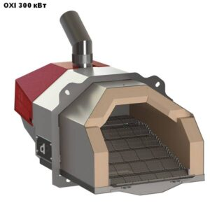 Пеллетная горелка,OXI,Ceramik,мощностью 300 кВт.