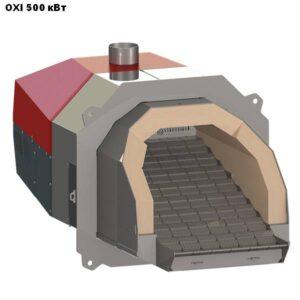 Пеллетная горелка,OXI,Ceramik,мощностью 500 кВт.