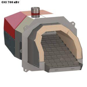 Пеллетная горелка,OXI,Ceramik,мощностью 700 кВт.