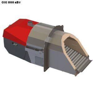 Пеллетная горелка,OXI,Ceramik,мощностью 800 кВт.