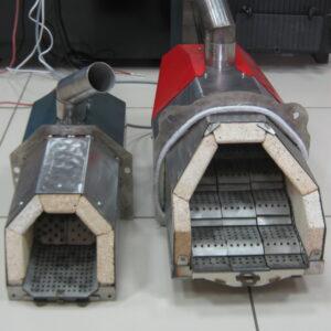 Пеллетные горелки,OXI 50 кВт и 100 кВт,вид 1