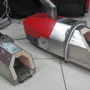 Пеллетные горелки,OXI 50 кВт и 100 кВт,вид 2