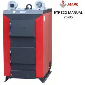 Твердотопливные котлы МАЯК длительного горения серии ECO MANUAL мощностью от 75 до 95 кВт.