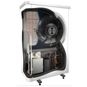 Тепловой насос ,BOSCH Compress 6000 , вид в разрезе.