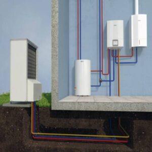 Тепловой насос ,BOSCH Compress 6000 , схема А.
