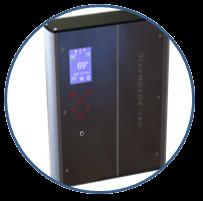 контроллер пеллетной горелки OXI