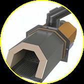 пеллетная горелка oxi2