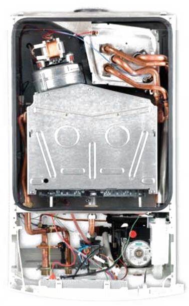 Газовый конденсационный котел ,BOSCH,Condens 2000 W,устройство.
