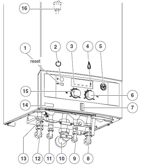 Подключение и управление,газового котла,BOSCH,GAZ 4000 W,