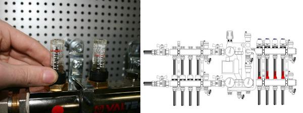 Насосно-смесительный узел VALTEC COMBIMIX-13