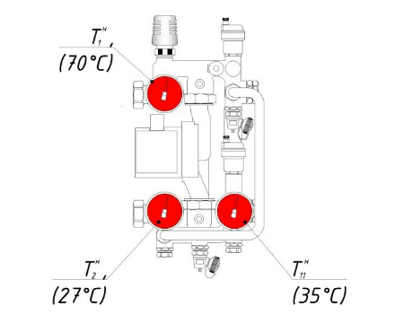 Насосно-смесительный узел VALTEC COMBIMIX-26