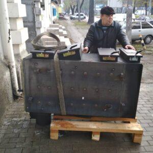 Монтаж котла, Маяк ECO MANUAL UNI и пеллетной горелки, Пушкина 20.-3