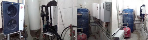 Система отопления на базе теплового насоса