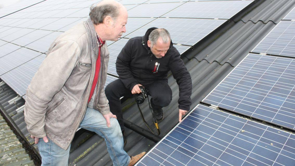 солнечная батарея,внешний осмотр