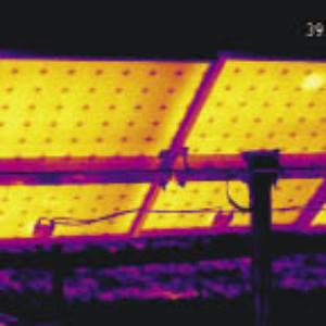 солнечная батарея,съемка тепловизором 8