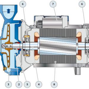 Устройство насосов pedrollo CP 250