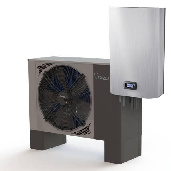 Бесплатная, возобновляемая энергия, тепловых насосов Templari, серии KITA