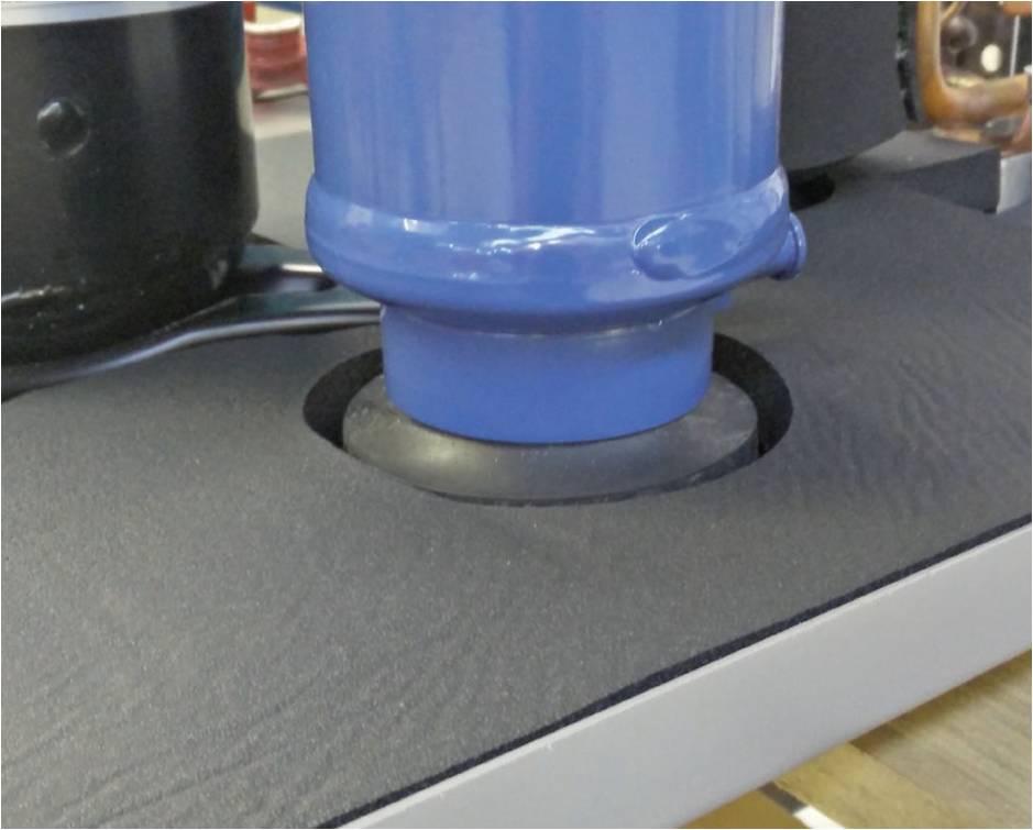 Инверторный BLDC вентилятор, тепловых насосов Templari, серии KITA