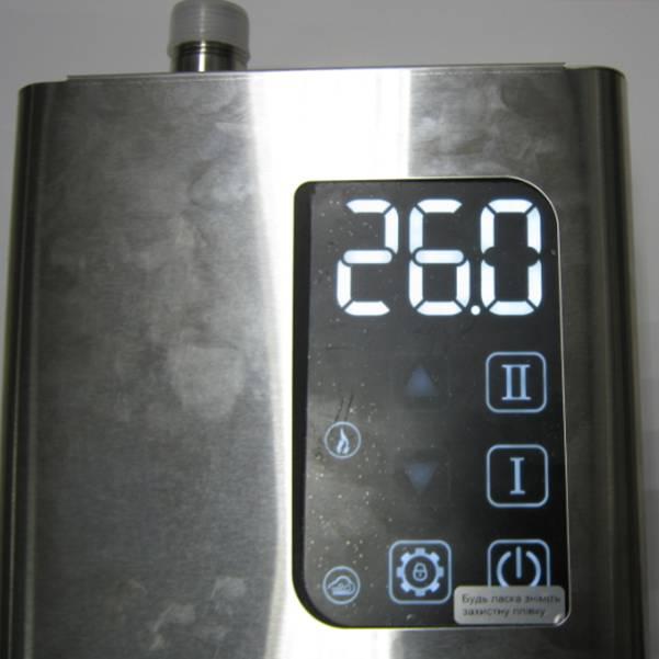Котёл электрический ARTI, работа по датчику воздуха