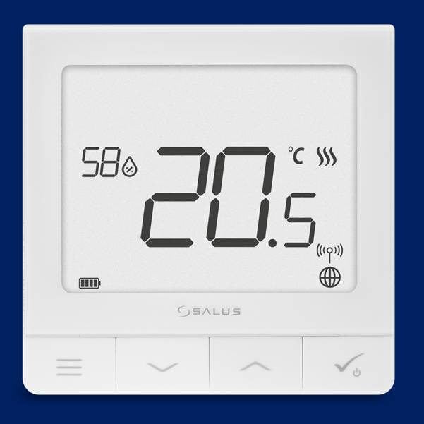 SALUS,SQ610RF, Сверхтонкий терморегулятор, термостат